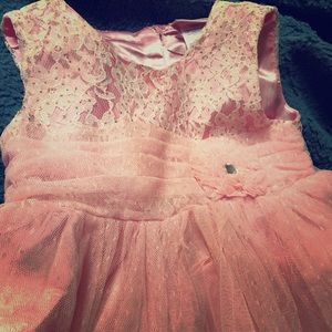 18 Month Lace Silky Dress